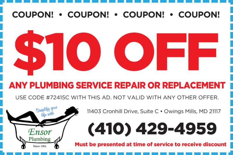 Plumbers in Baltimore MD | Ensor Plumbing | Water Heaters, Drain Cleaning & More